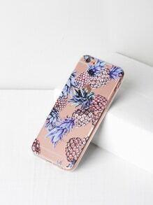 Funda para iPhone 6/6s con estampado de piña