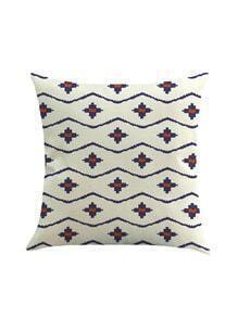 Geometric Print Cushion Cover