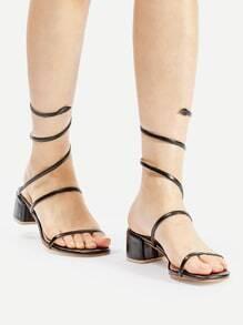 Sandaletten mit PU Träger
