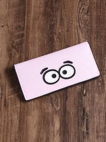 Eye Patch Cute PU Wallet