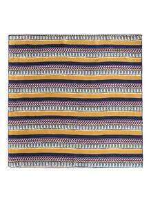 Geometric Striped Print Bandana