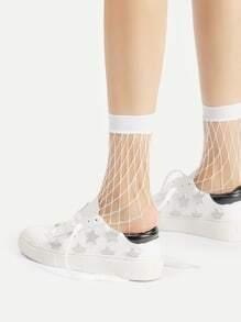 Fishnet Ankle Socks