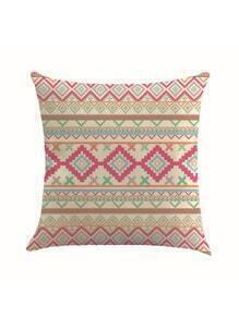 Funda de almohada con estampado kilim
