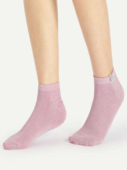 Glitter Ankle Socks