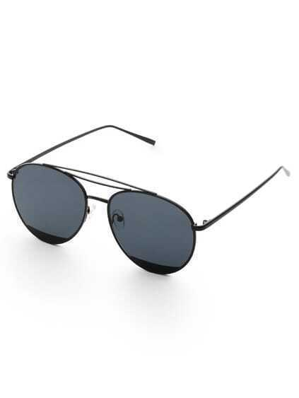Triple Bridge Aviator Sunglasses