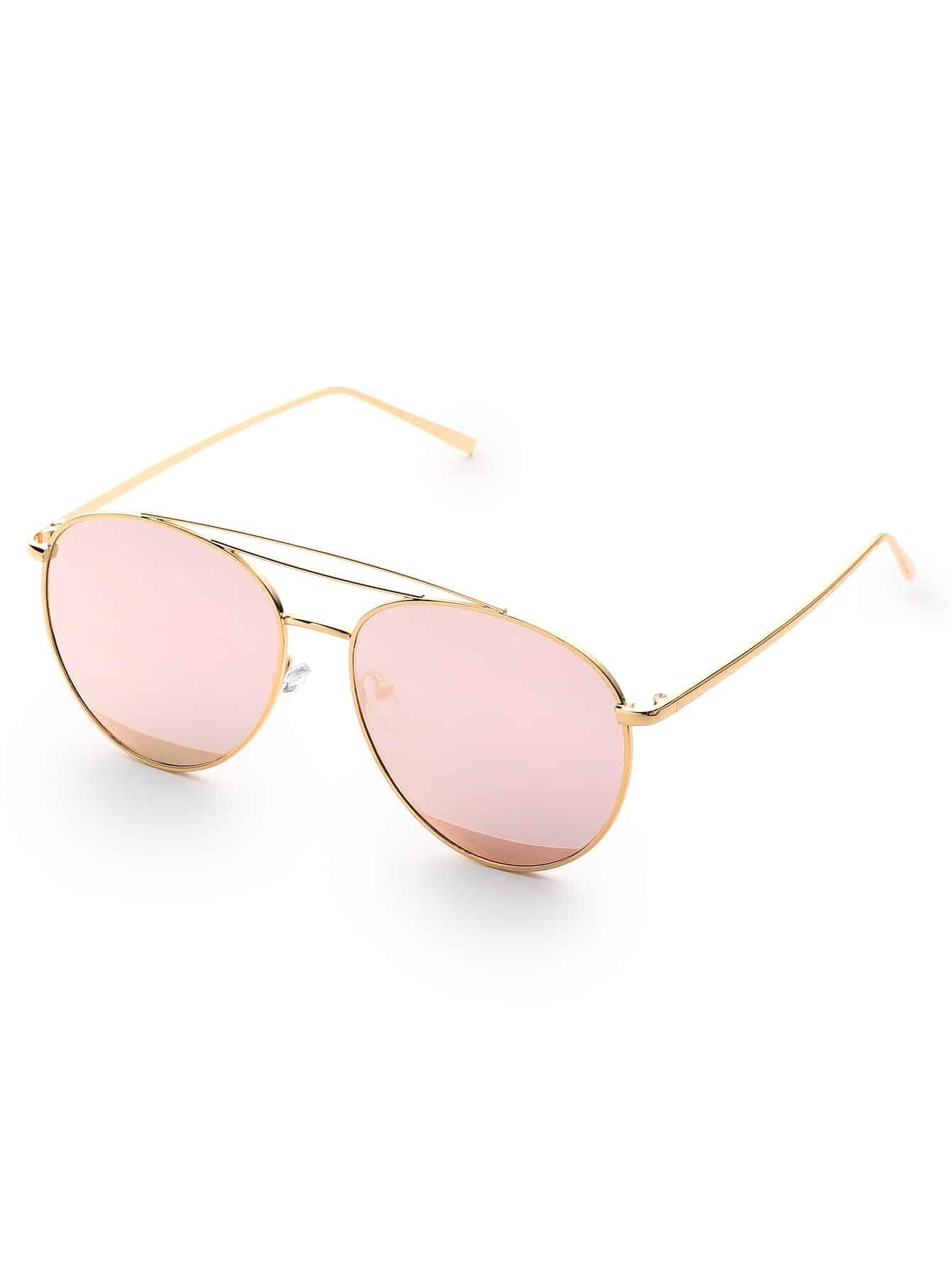 Triple Bridge Aviator Sunglasses