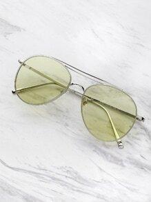 Kontrast Aviator Sonnenbrille
