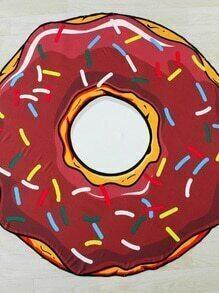 Donut geformte Stranddecke