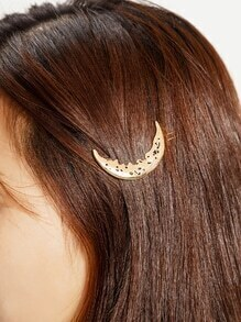 Moon Shaped Hairpin