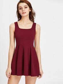 Fit Flare Mini Dress