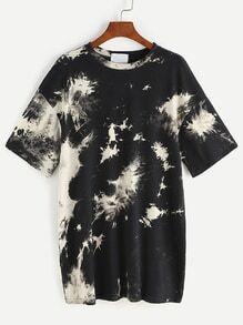 Style chemise avec un colorant espace d'épaule a chuté