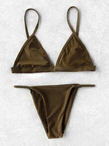 Triangle Beach Bikini Set