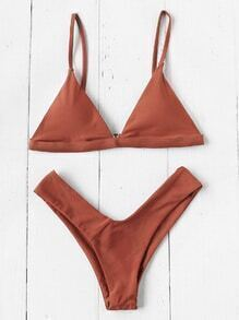 Ensemble de Bikini triangle de plage