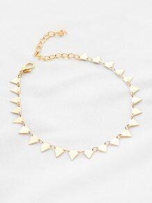 Geometrisches Dreieck Armband