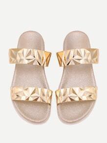 Sandalen mit Metallband