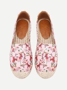 Chaussures de toile imprimé