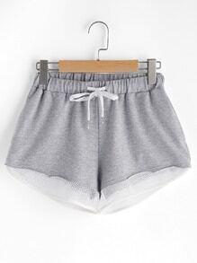 Sports Shorts mit Kordelzug