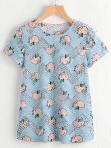 hohle Frucht-gemustertes Hemd
