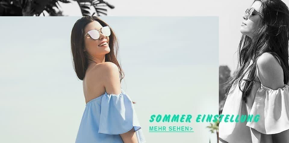 Sommer Einstellung