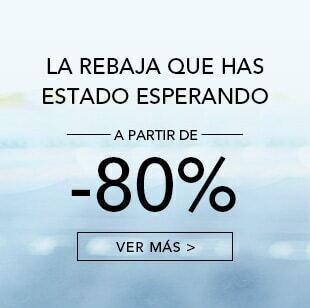 A partir de -80%