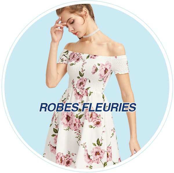 Robes fleuries