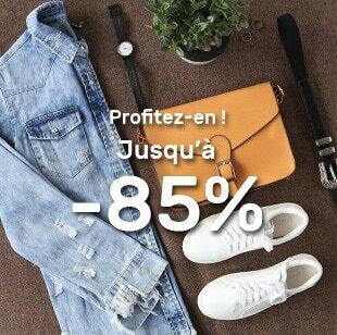 Jusqu'à -85%