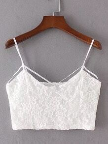 Cami Straps Lace Top