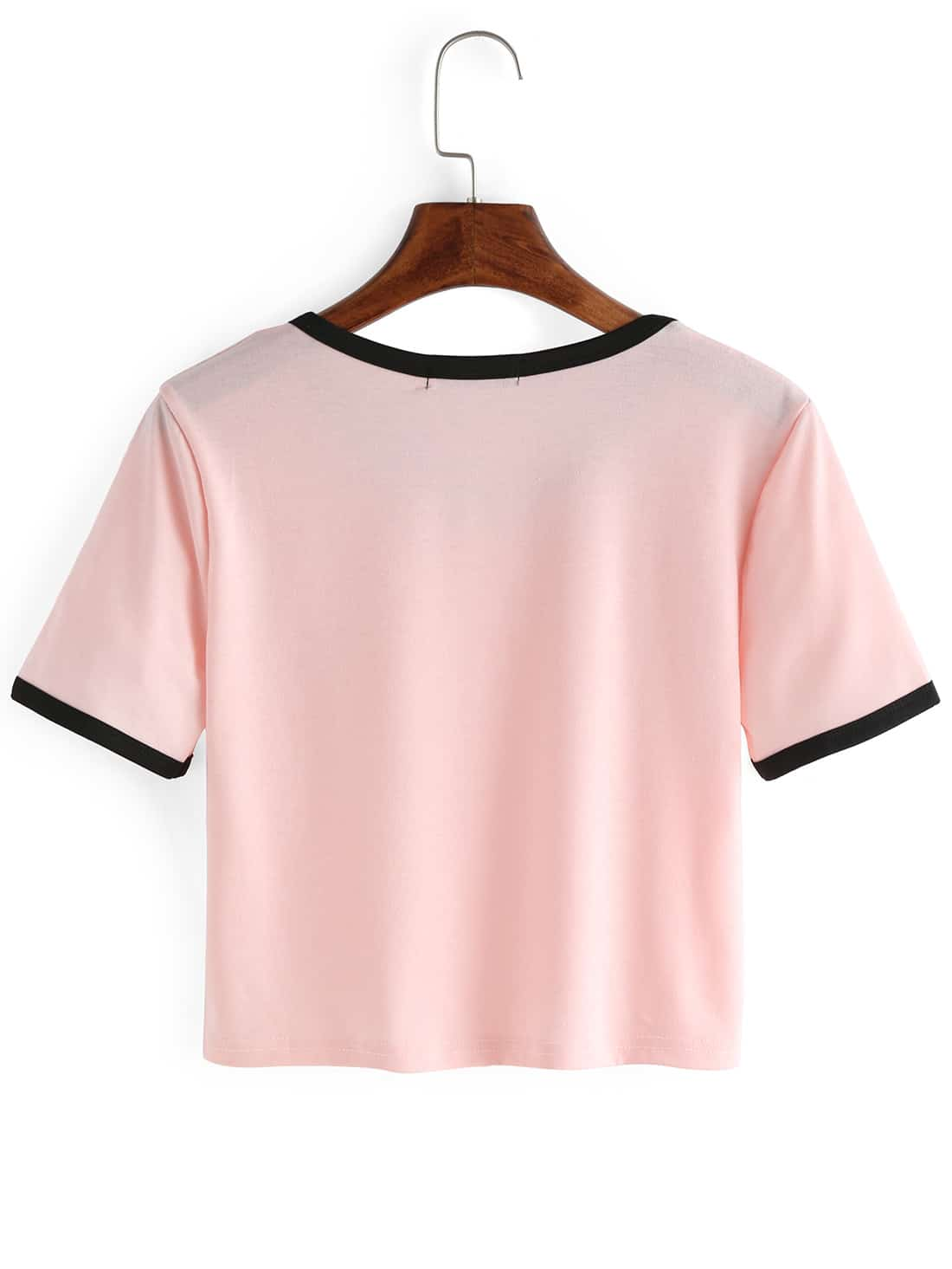 how to make an oversized shirt into a crop top