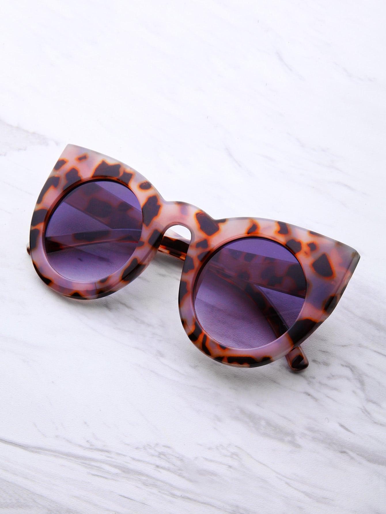 lunettes de soleil cat eye cat french romwe. Black Bedroom Furniture Sets. Home Design Ideas