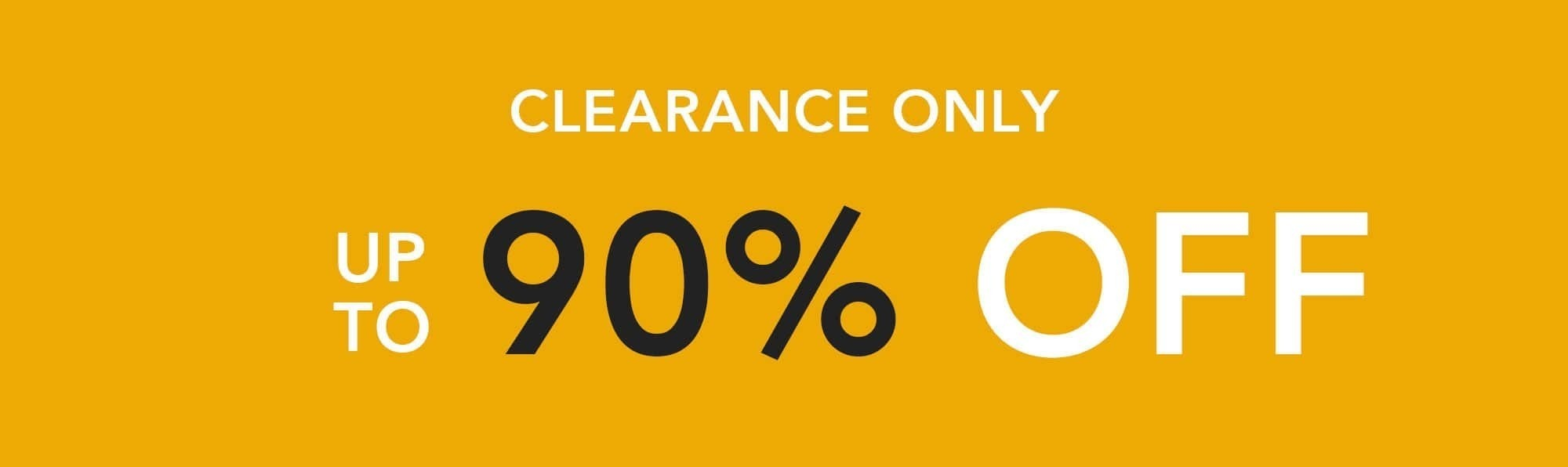 Clearance Only