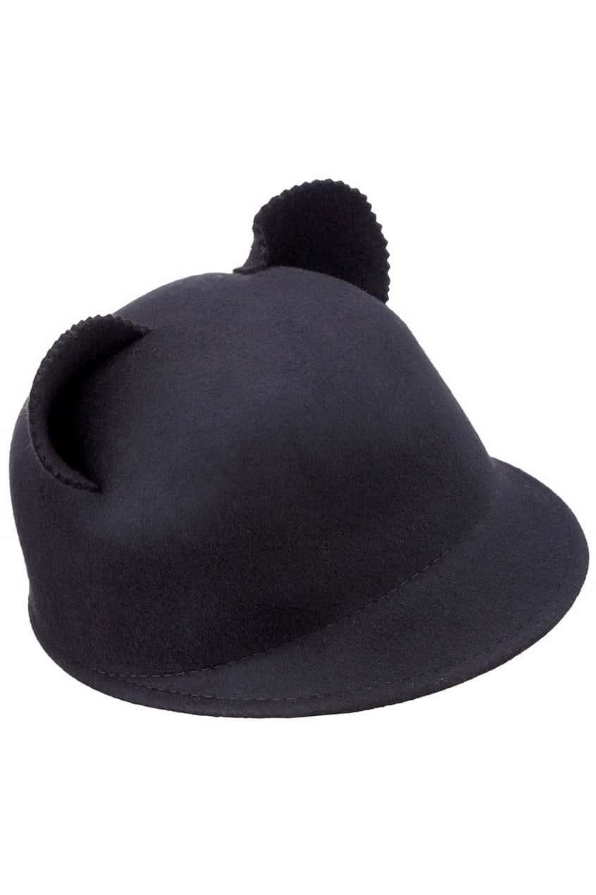 Cat Ears Black Hat  343b41f872f