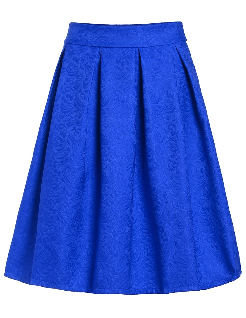 Blue Skirts