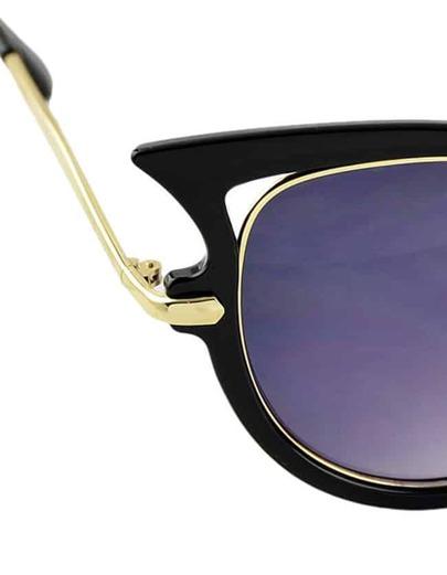 d2f452aaf New Arrivals Fashionable Women Black Cat Eye Sunglasses 2015 | ROMWE