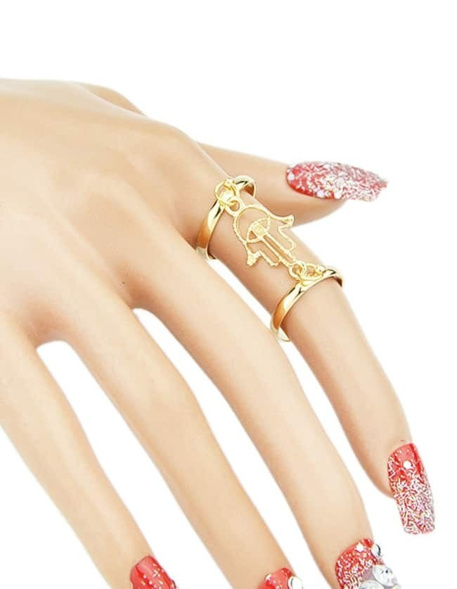 cheap wholesale gold plated finger ring