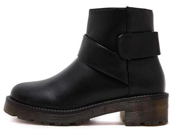 redondo botín negro