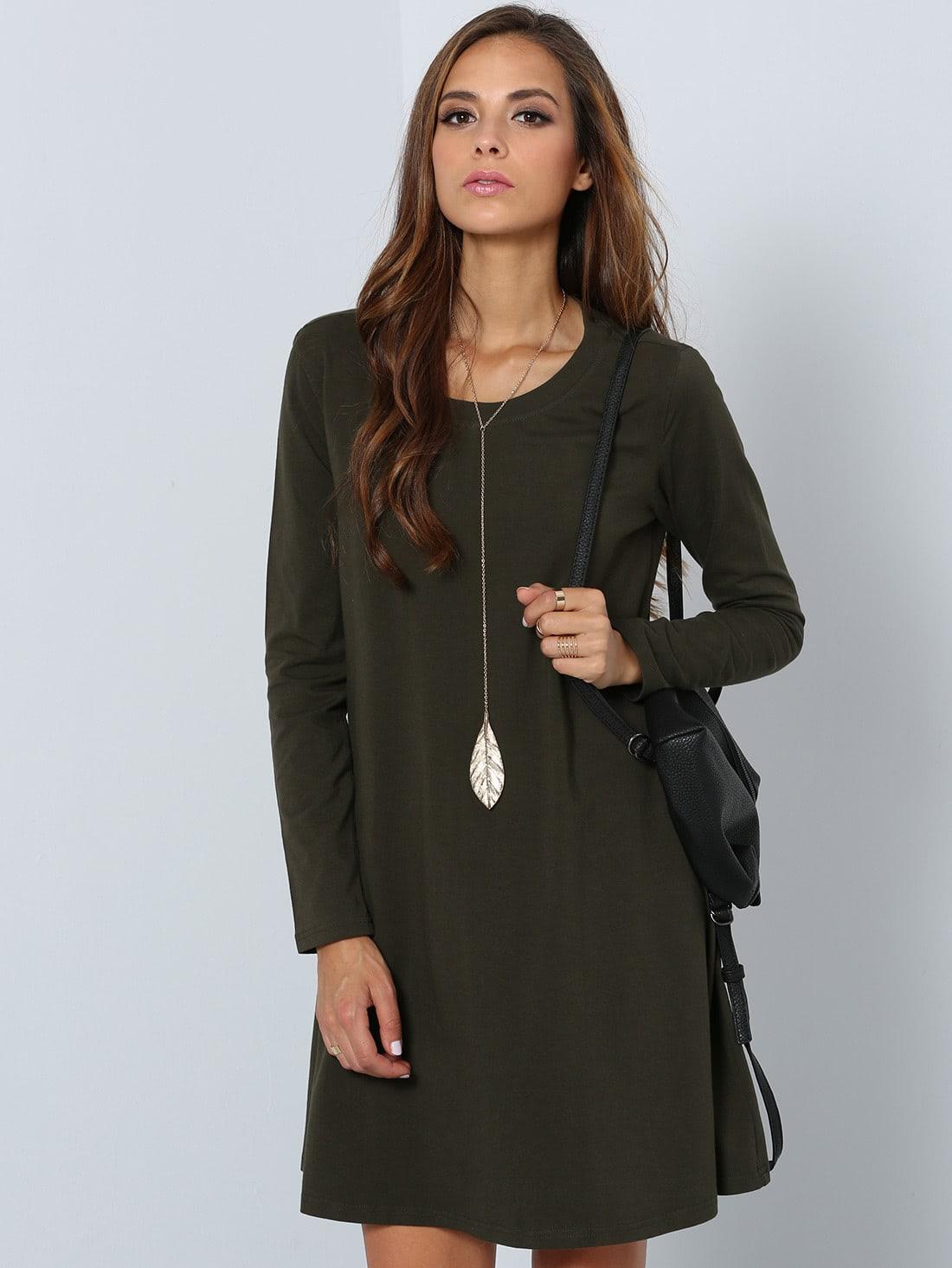 Moderne kleider langarm