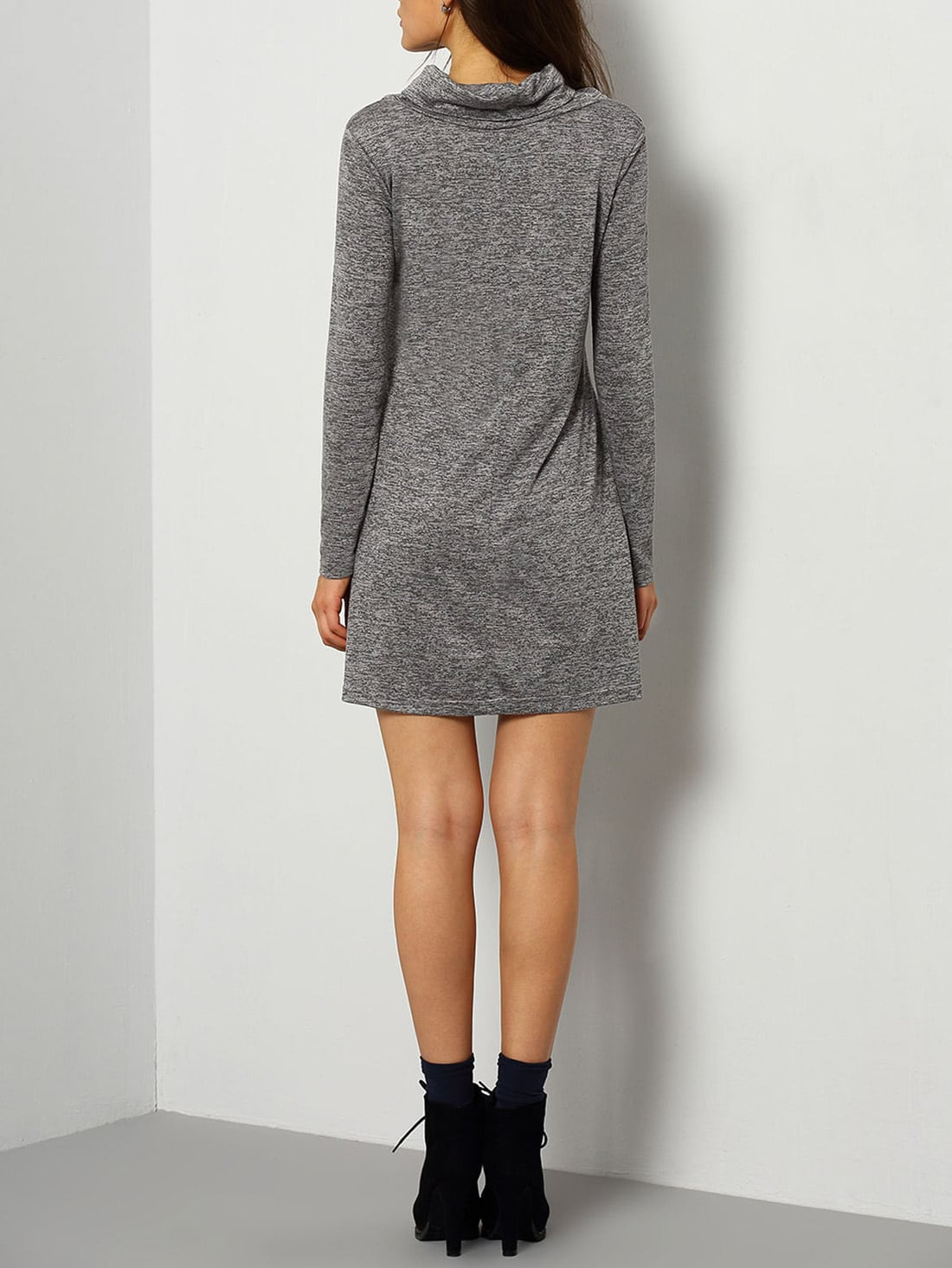 High Neck Casual Dresses