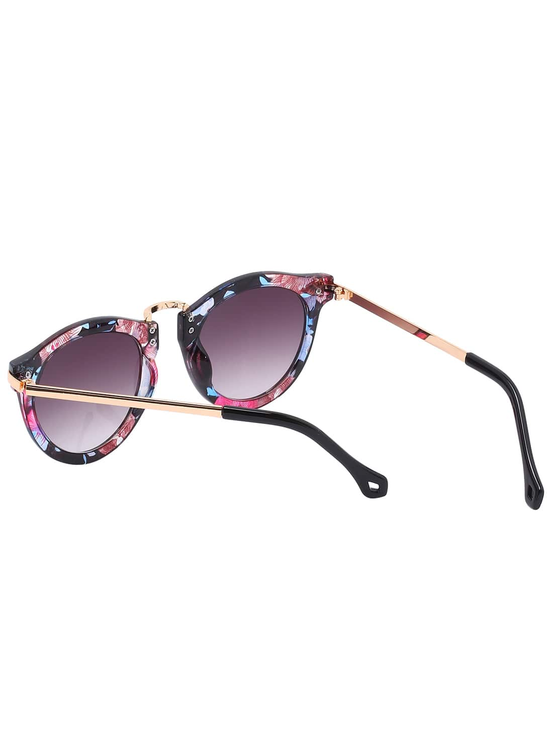 oversized round frame sunglasses - Multicolour N°21 5FuI9