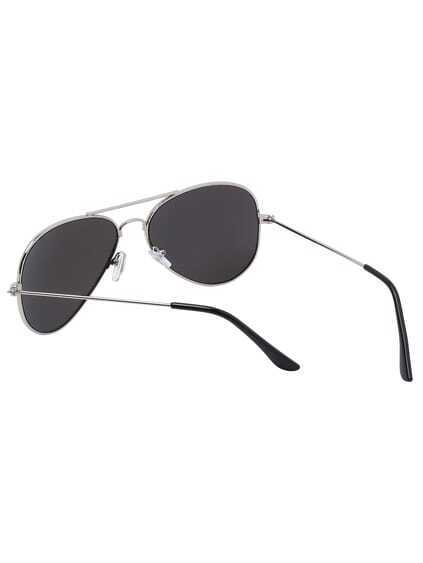 Silver Lenses Top Bar Sunglasses