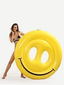 Schwimmen Pool Floß im Smiley-Face Design