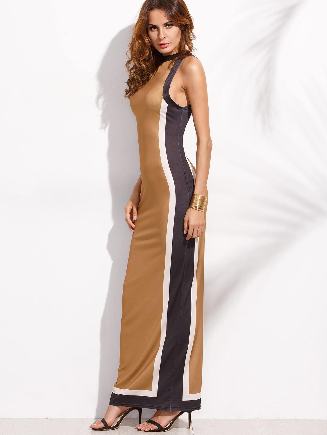 Maxi sheath dress
