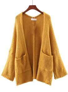 Ginger Long Sleeve Pocket Cardigan