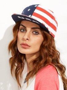 USA Flag Hip Hop Baseball Cap