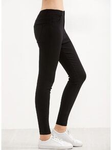 Black Stretch Skinny Pants