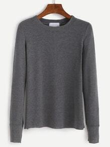 Dark Grey Long Sleeve T-shirt