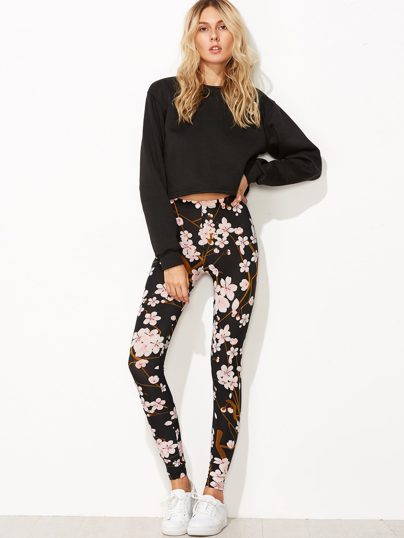 Find black floral leggings at ShopStyle. Shop the latest collection of black floral leggings from the most popular stores - all in one place.