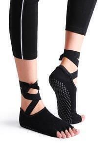 Calcetines para yoga - negro