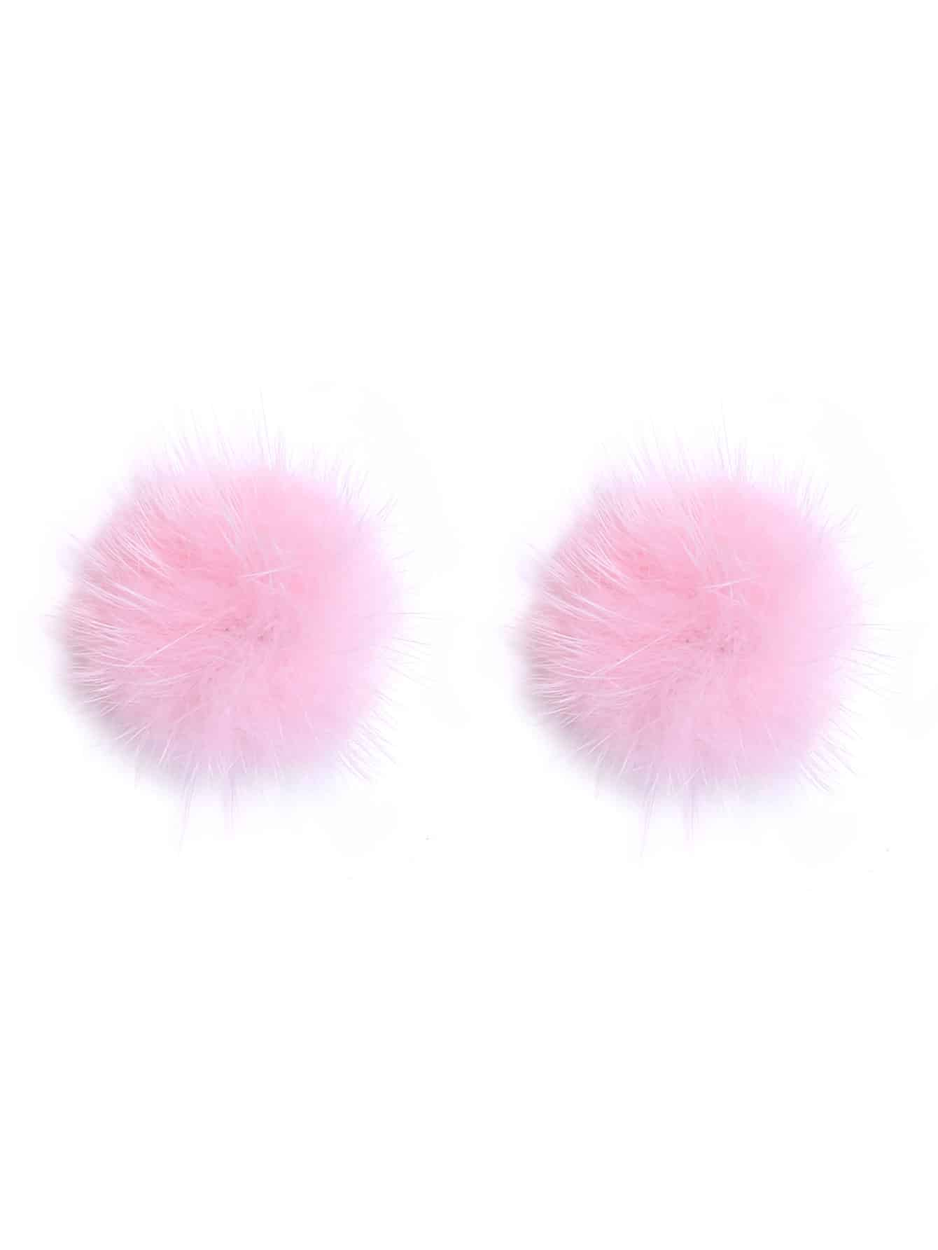 pearl freshwater earrings stud pink