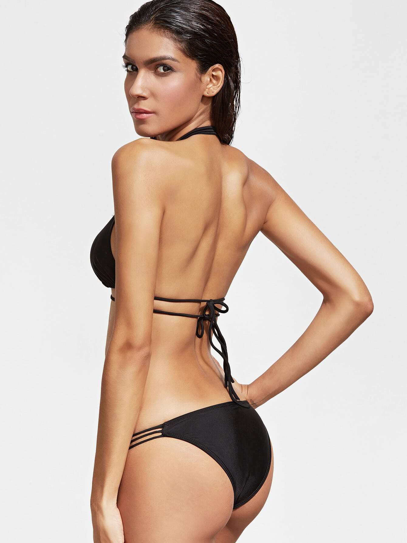 Bikini french satin
