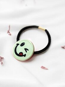 Coletero con cara sonriente - verde